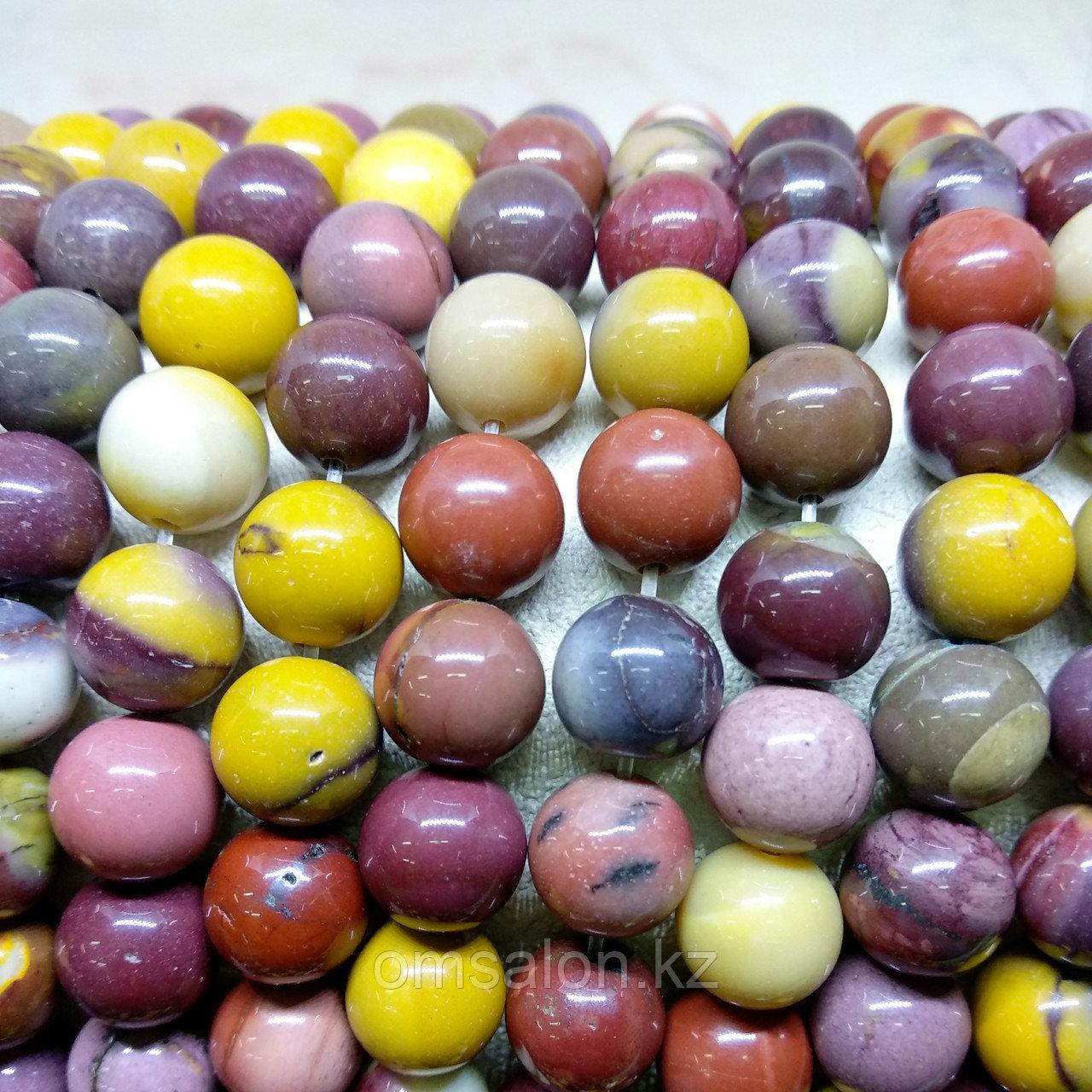 Мукаит (австралийская яшма) 12 мм