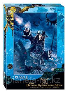 Пазл 160 элементов. Пираты Карибского моря, Дисней, Степпазл