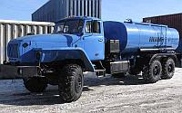 Автоцистерна АЦПТ-10 на шасси Урал 4320