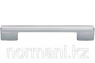 Ручка-скоба 160-128 мм, отделка хром матовый лакированный