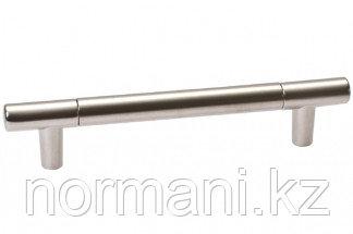 Ручка-скоба 160 мм, отделка никель матовый