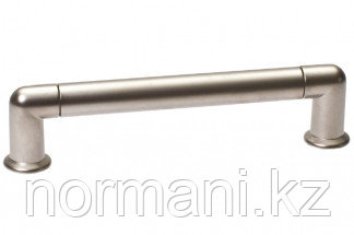 Ручка-скоба 192 мм, отделка никель матовый