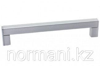 Ручка-скоба 160 мм, отделка хром матовый лакированный