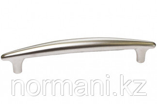 Ручка-скоба 128 мм, отделка никель матовый