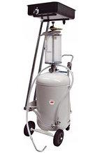 Пневматический сборник масла с опускаемой ванной, 80 л (6 щупов, 3 коннектора, ванна 22 л, колба АРАС (Италия)