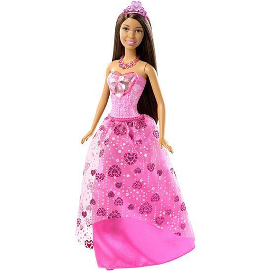 """Barbie """"Дримтопиа"""" Кукла Принцесса Барби Шатенка, Gem Fashion"""