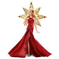 Barbie Коллекционная кукла Барби в красном платье - Праздничная 2017