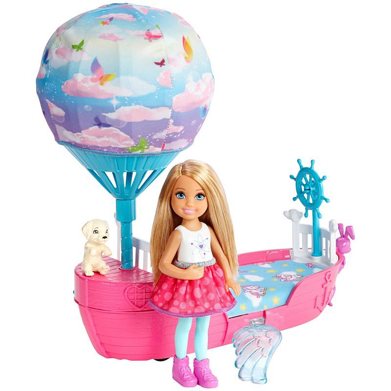 """Barbie """"Дримтопиа"""" Игровой набор - Кукла Челси с кроваткой, Барби"""