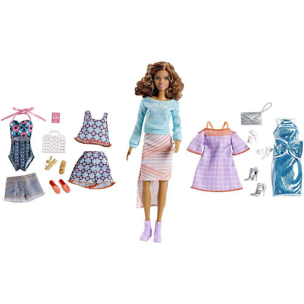 """Barbie """"Розовый паспорт"""" Кукла Барби, Шатенка"""