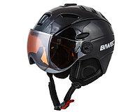 Шлем BIWEC,ZEVS MS-95, черный c визором