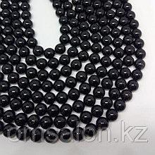 Турмалин чёрный, 8 мм.