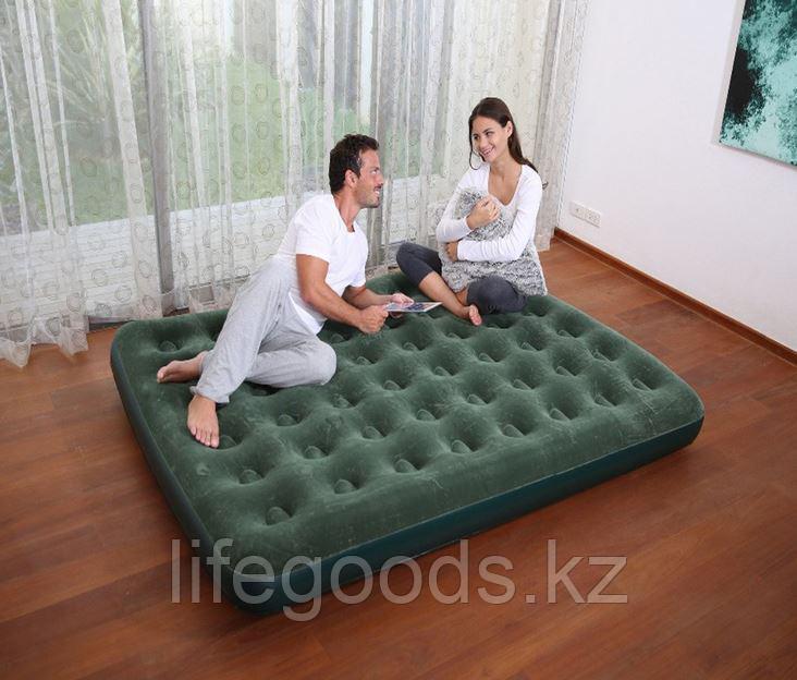 Двуспальный надувной матрас 203x152x22см без насоса, Bestway 67449