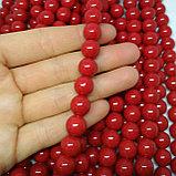 Коралл красный (имитация), 10 мм, фото 2