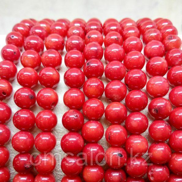 Коралл красный, 7 мм