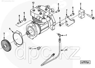 Прокладка воздушного компрессора Cummins 6CT 3940245
