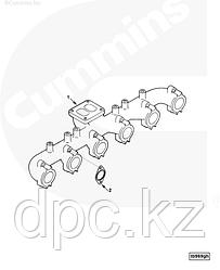 Прокладка выпускного коллектора Cummins 6CT 3932063