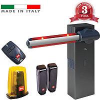 Шлагбаум MOOVI 30 Premium BFT - Италия (открытие 4.0 сек, стрела 4.6 м, до 1200 циклов/24 часа), фото 1