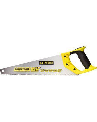 Ножовка универсальная (пила) STAYER SuperCut 400 мм, 7TPI