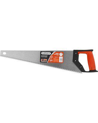 Ножовка по дереву (пила) MIRAX Universal 450 мм, 5 TPI