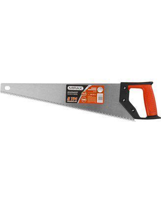 Ножовка по дереву (пила) MIRAX Universal 500 мм, 5 TPI