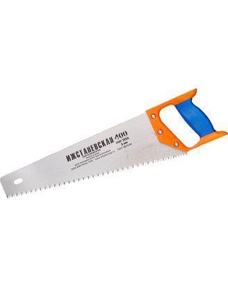 Ножовка ИЖ по дереву с двухкомпонентной пластиковой рукояткой, шаг 5мм, 400мм, фото 2
