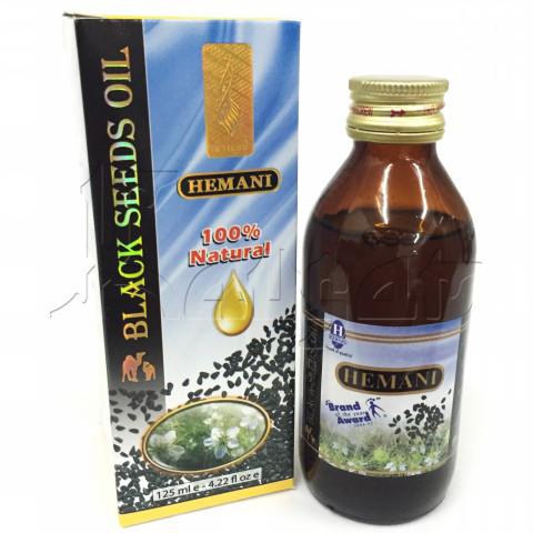 Масло черного тмина Hemani 125 мл