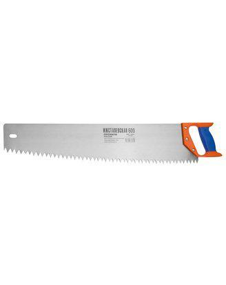 Ножовка ИЖ по дереву с двухкомпонентной пластиковой рукояткой, шаг 12мм, 600мм