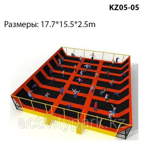 Батутная арена для игровых комнат