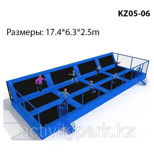Батутная арена для детей