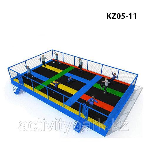 Батутные арены в игровой центр