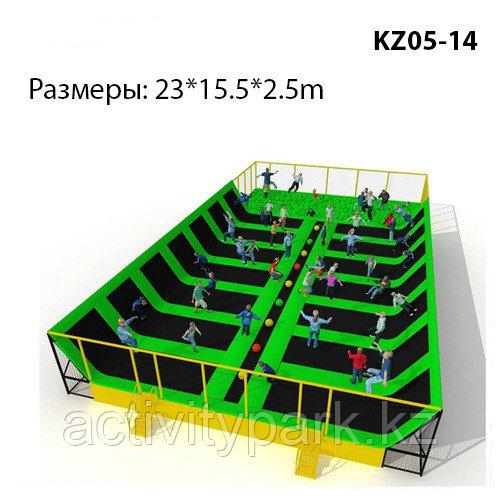 Батутная арена в игровой комплекс