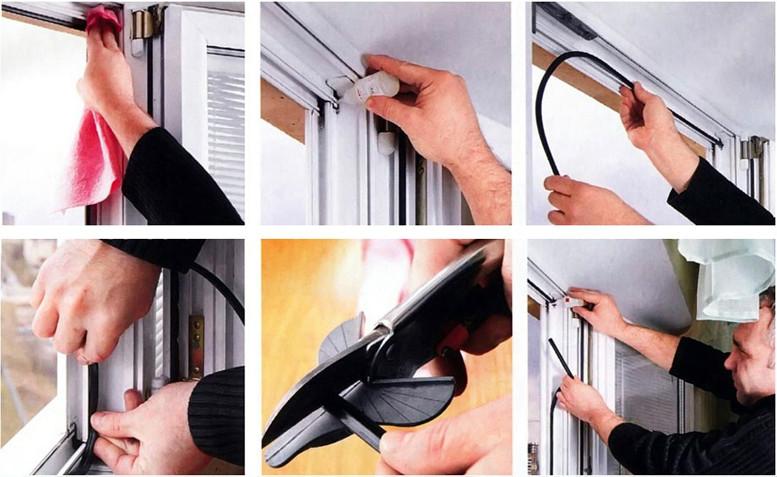 Регулировка пластиковых окон дверей и перегородок