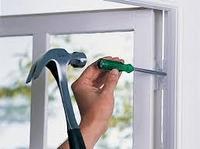 Замена навесов на окне и двери