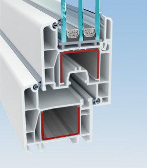 Профиль для производства пластиковых конструкций Deceuninck Enwin Eco 60 (Декенинк Энвин Эко 60)