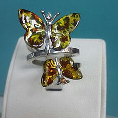 """Кольцо """"Monarch Batterfly"""" Roberto Bravo- 18 размер"""