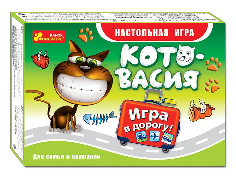 """Ranok 12170003Р Настольная игра в дорогу """"Котовасия"""""""