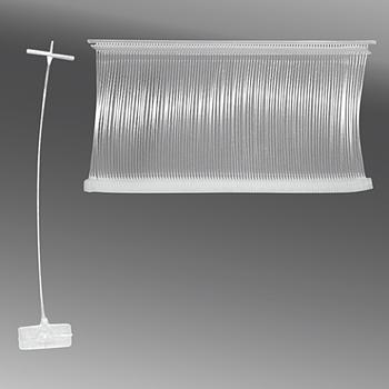 Пластиковый соединитель для ярлыков 50мм