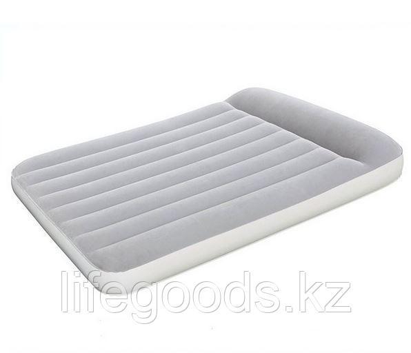 Полуторный надувной матрас со встроенным насосом, Bestway 67462