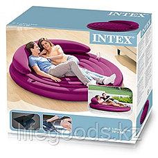 Надувной диван-матрас круглый, Intex 68881, фото 3