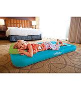 Детский надувной матрас с подушкой, Intex 66801
