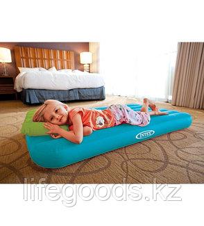 Детский надувной матрас с подушкой, Intex 66801, фото 2