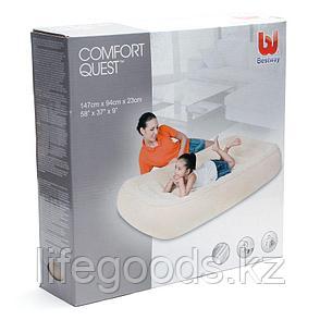 Детский надувной матрас 147х94х23 см, Bestway 67378, фото 2