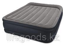 Двуспальная надувная кровать со встроенным насосом, Intex 64136, фото 3