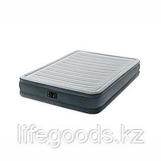 Двуспальная надувная кровать со встроенным насосом, Intex 67770, фото 2
