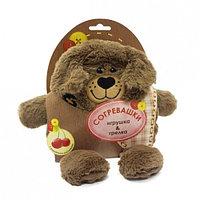Мягкая игрушка-грелка Собачка 19 см, фото 1