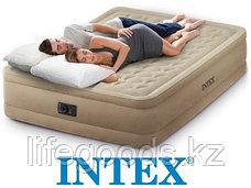 Двуспальная надувная кровать со встроенным насосом, Intex 64458, фото 2
