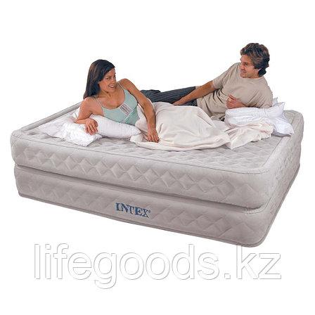 Двуспальная надувная кровать со встроенным насосом, Intex 64464, фото 2