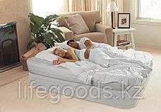 Двуспальная надувная кровать со встроенным насосом, Intex 64464, фото 3