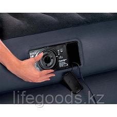 Двуспальная надувная кровать со встроенным насосом, Intex 66702, фото 3