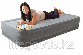 Односпальная надувная кровать со встроенным насосом, Intex 67766